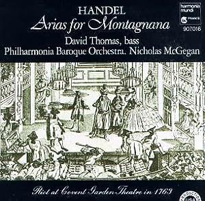 Handel;Arias for Montagnana