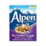 Alpen No Added Sugar Blueberry, Cherry and Almond, 560g