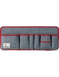 コジット サイズが変わるバッグインポケット グレー 40cm 自由自在 収納