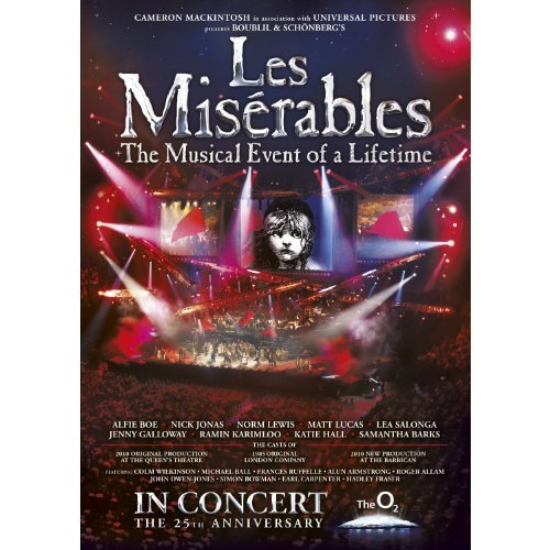 Les Miserables 25th Anniversary [DVD] by Alfie Boe