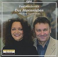Hindemith: Das Marienleben op. 27 by Boog (2014-03-25)
