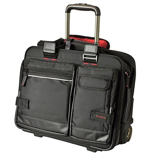 (バジェックス )BAGGEX ビジネスキャリーバッグ 機内持ち込サイズ 出張用 アタッシュケース A4 パイロットケース ビジネスバッグ メンズ 大 23-5531 utc