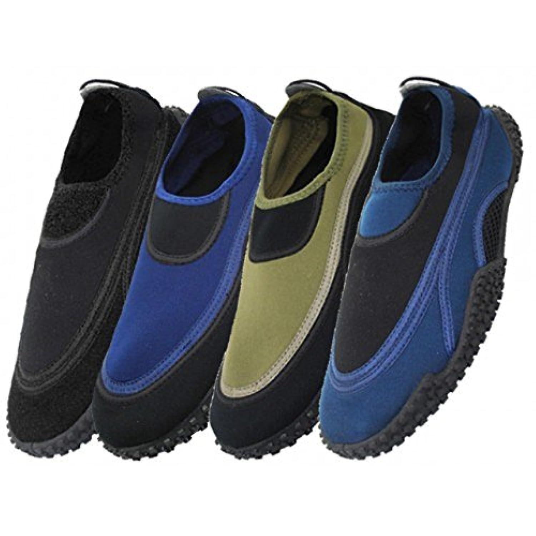 卸売メンズAquaソックス水靴、ビーチ、プール、水泳、ヨガ、練習