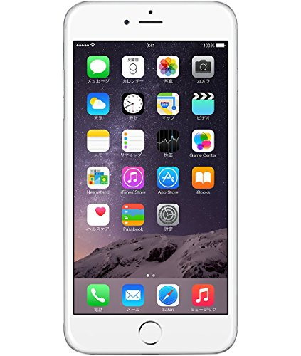 Apple iPhone 6 Plus 64GB シルバー 【softbank 白ロム】MGAJ2J