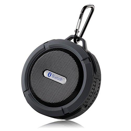 SUNG-LLナオミチ【メーカー直販】Bluetooth ワイヤレススピーカー 内蔵マイク付 吸盤式対応 防水仕様