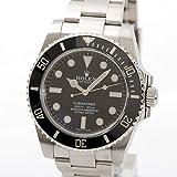 [ロレックス] ROLEX ロレックス サブマリーナ・ノンデイト 腕時計 ウォッチ ブラック ステンレススチール(SS) 114060 [中古]
