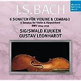 バッハ:ヴァイオリンとチェンバロのためのソナタ集(全6曲)