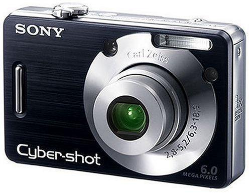 ソニー SONY デジタルカメラ サイバーショット DSC-W50 ブラック DSC-W50