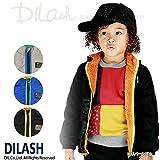 (ディラッシュ) DILASH迷彩ナイロン&ボアリバーシブルジャケット/秋 ベビー キッズ 男の子 80 ブラック
