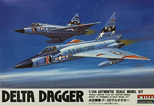 1/144 ジェットファイターシリーズシリーズ F-102Aデルタダガー