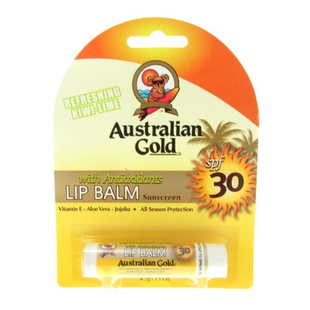 埋める異常推測するAustralian Gold Lip Balm Spf30 4,2gr [並行輸入品]
