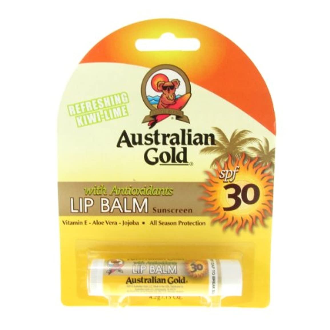 雑品案件折り目Australian Gold Lip Balm Spf30 4,2gr [並行輸入品]
