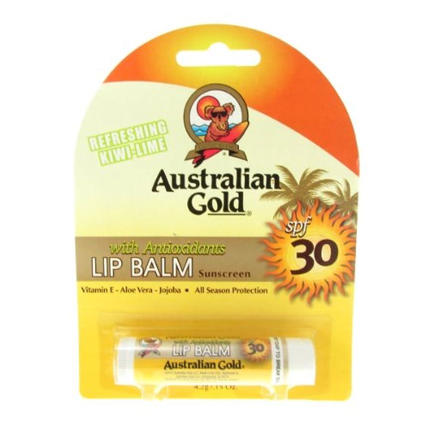 カンガルー引き付ける貝殻Australian Gold Lip Balm Spf30 4,2gr [並行輸入品]
