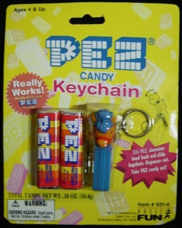 Pez Candy & Pony Keychain New On Card [並行輸入品]