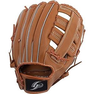 GP (ジーピー) 野球 グローブ 軟式 一般 右投げ用 オールラウンド 12.5インチ ブラウン 36869Y 部活 草野球 練習