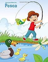 Livro para Colorir de Pesca