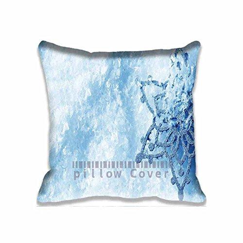 Amazing Snowflakeスロー枕ケースNatureクッションカバーユニークなデザイン枕カバーコットン投げ枕カバー