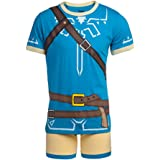 Nintendo Men's Video Game Boxer Brief Underwear and T-Shirt Set