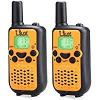 Walkie Talkies,Durable and Easy to use 22 Channel FRS/GMRS Two Way Radio 2 Mile Rang, 2 Pack(Orange) 100%! [並行輸入品]