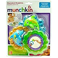 Munchkin Daredevil Dolphins Bathtub Toys (Discontinued by Manufacturer) [並行輸入品]