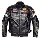 シンプソン(SIMPSON) ジャケット フェイクレザージャケット ブラック M SJ-6133