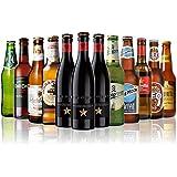 父の日限定 世界のビール12本飲み比べギフトセット スペイン産高級ビール3本入!スペイン ドイツ ベルギーなどビール本場より大集結!全種類の商品詳細がわかるビールリスト付 (12弾)