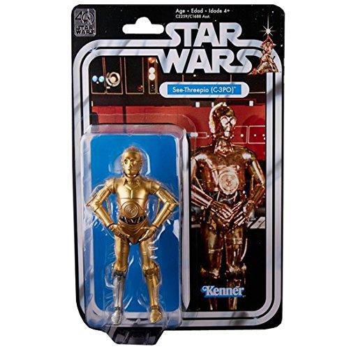 스타워즈 피규어 블랙 시리즈 6인치 피규어 40주년 기념 C-3PO-- (2017-05-27)