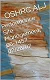 Performance Site Management; 06-1457  02/26/07 (English Edition)