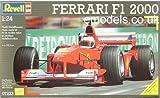 ドイツレベル 1/24 フェラーリ F1・2000 07223 プラモデル
