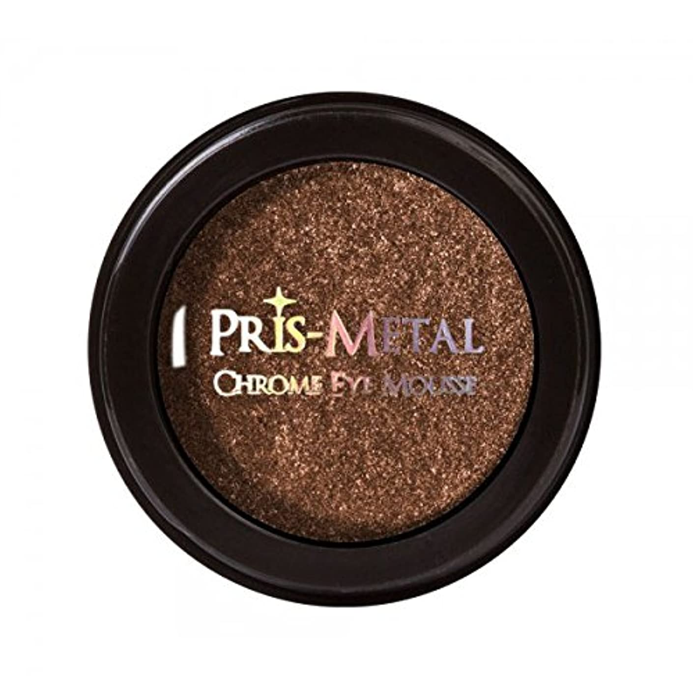 高音一方、地域J. CAT BEAUTY Pris-Metal Chrome Eye Mousse - Coil Braid (並行輸入品)