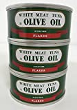 由比缶詰所 特撰まぐろオリーブ油漬フレーク ヒラ3号缶 90g 3個セット