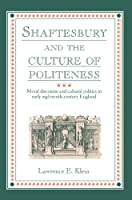 Shaftesbury and Culture Politeness