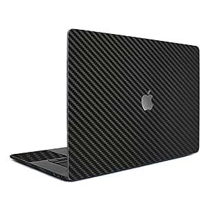 【全31色】 wraplus for MacBook Pro 15 インチ 【ブラックカーボン】 スキンシール (Late2016 ~ )
