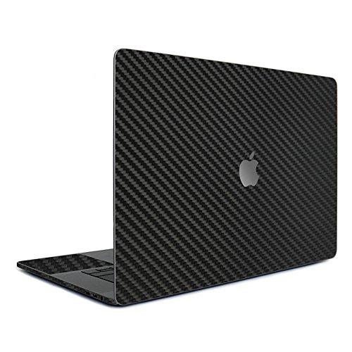 wraplus for MacBook Pro 13 インチ [ブラックカーボン] スキンシール (2016 ~ 最新モデル) ケース