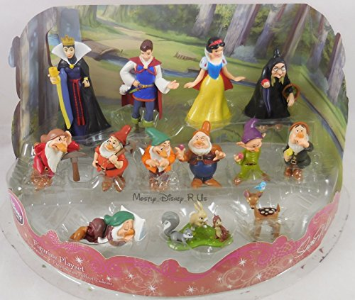 디즈니 피규어 백설 공주와 일곱 난쟁이 Disney Store Snow White 7 Dwarfs Deluxe PVC Figurine [병행수입품]-w2