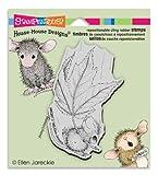 Stampendous 家マウスしがみつくスタンプ秋フロート