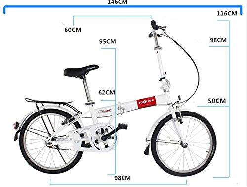 20インチ 折りたたみ自転車 折畳自転車 おりたたみ自転車MTB おりたたみ自転車W320 ピング
