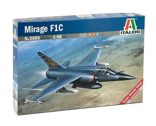 タミヤ イタレリ 1/48 飛行機シリーズ 2695 ミラージュ F1C 38695