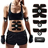 Abdominal Toning Belt, Charminer Muscle Toner Abs Trainer Body Fitness Training Slimming Machine,Gym Workout And Home Fitness Apparatus For Men Women