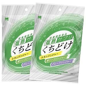 ミドリ安全 塩熱サプリ くちどけ 40g(約12粒入) 2袋セット