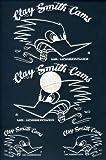 クレイスミスCLAY SMITH 転写ステッカー / WHITE 白ライン / CSY-016
