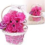 カーネーションプードル花束ブーケ 母の日 プレゼントブーケ