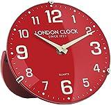 LONDON CLOCK 置時計 アナログ バリー レッド LO-06386