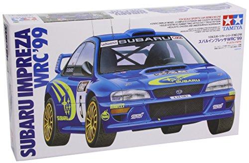 Tamiya 1 / 24 Tamiya No.218 Subaru Impreza WRC 1999 plastic 24218