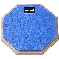 Twinkle goods (ツインクルグッズ) ドラム 練習 パッド トレーニングパッド ラバー 製 高弾 静音 8インチ ブルー