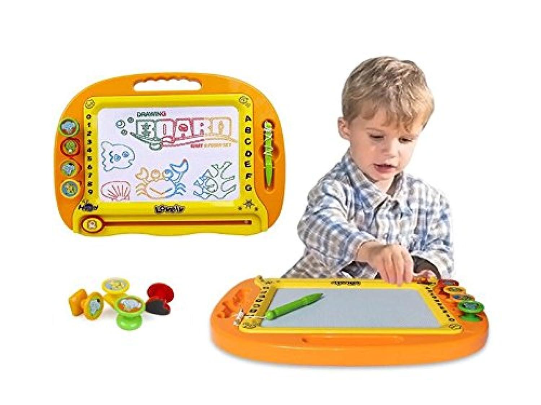 HuaQingPiJu-JP 子供のための高品質磁気描画ボード創造的なおもちゃ