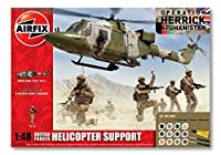 Airfix Helicopter Support Gift Set (1:48 Scale) British Forces [並行輸入品]
