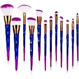 Makeup Brush, Toplus 12pc Makeup Brush Set Premium Synthetic Foundation Brush Blending Face Powder Blush Concealers Eye Shadows Make Up Brushes Kit