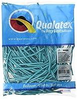 "Qualatex 160q Smallツイスターバルーン–パックof 100 1"" X 60"" ブルー 50324"