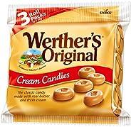 Werther's Original Cream Candies Rolls Multipack, 3PK, 1